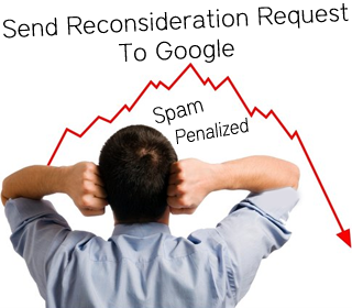 reconsideration request to google