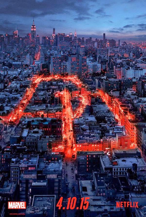 Teaser poster Daredevil Netflix