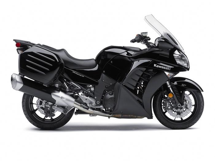 Kawasaki Concours No Saddle Bags