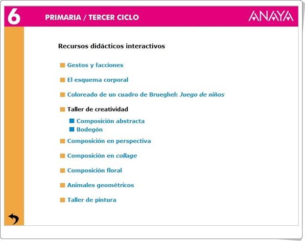 http://www.ceipjuanherreraalcausa.es/Recursosdidacticos/SEXTO/datos/04_Plastica/Programa/recursos.htm
