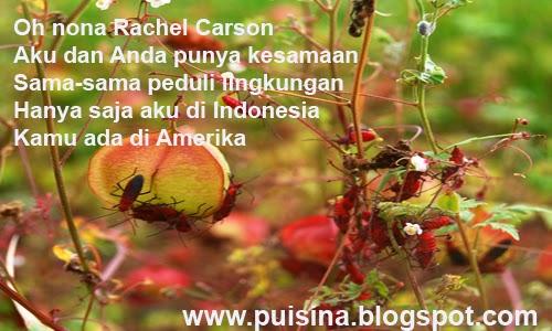 Puisi Kenangan Rachel Louise Carson