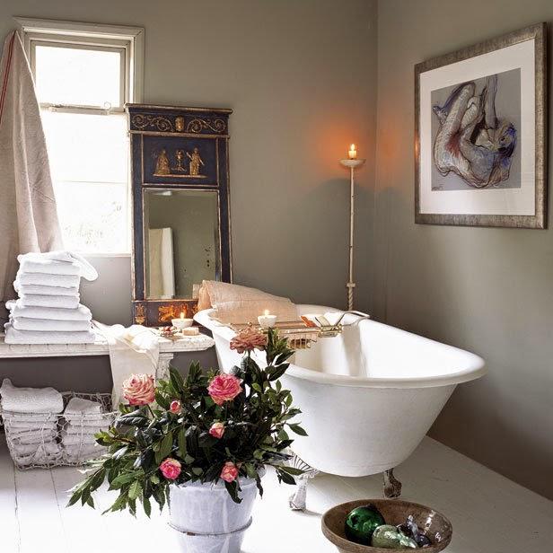 Ba os estilo antiguo for Muebles de bano estilo vintage