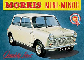 Morris Mini Minor cumplió 55 años