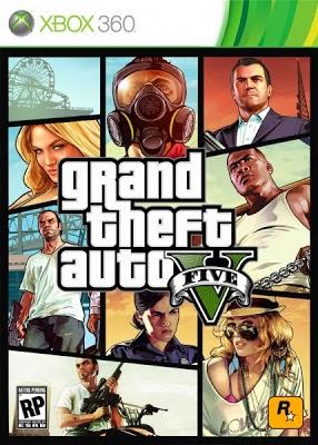 Free Download GTA 5 - Xbox 360 Game