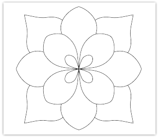 Free Download Applique Flower Patterns Craft Resources Blog