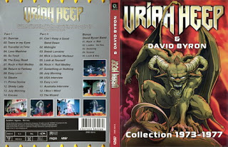 dvd konser Uriah Heep & David Byron - Collection 1973-1977 (2010), jual dvd konser, live musik, musik video,