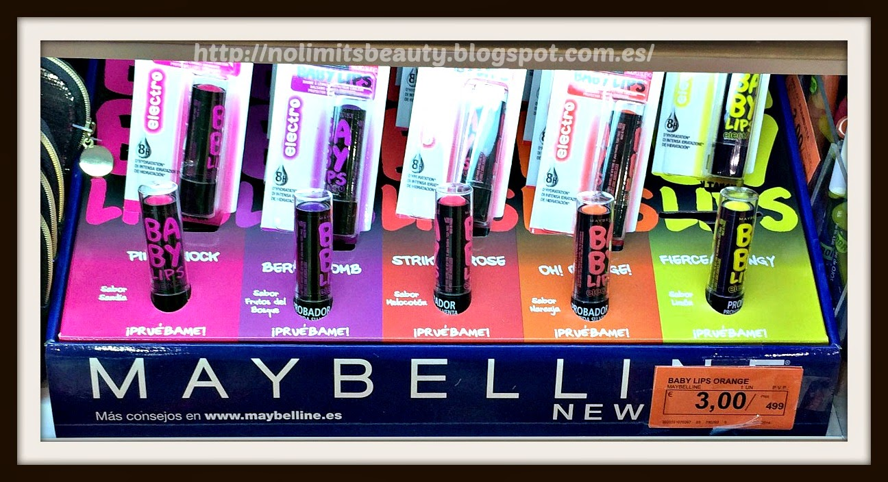 Electro Baby Lips - Maybelline
