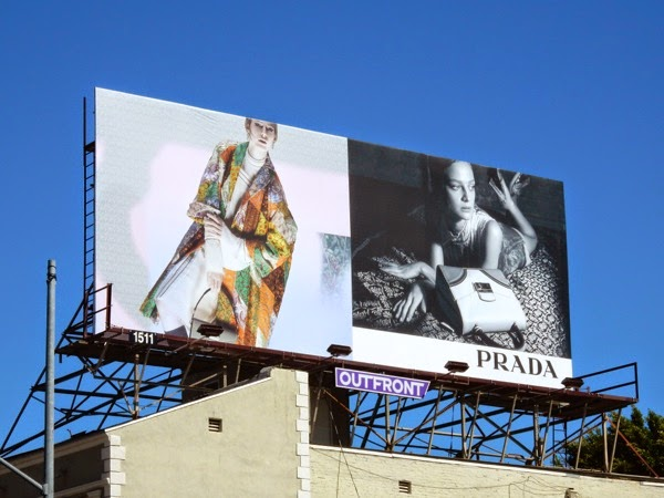 Prada Spring 2015 billboard