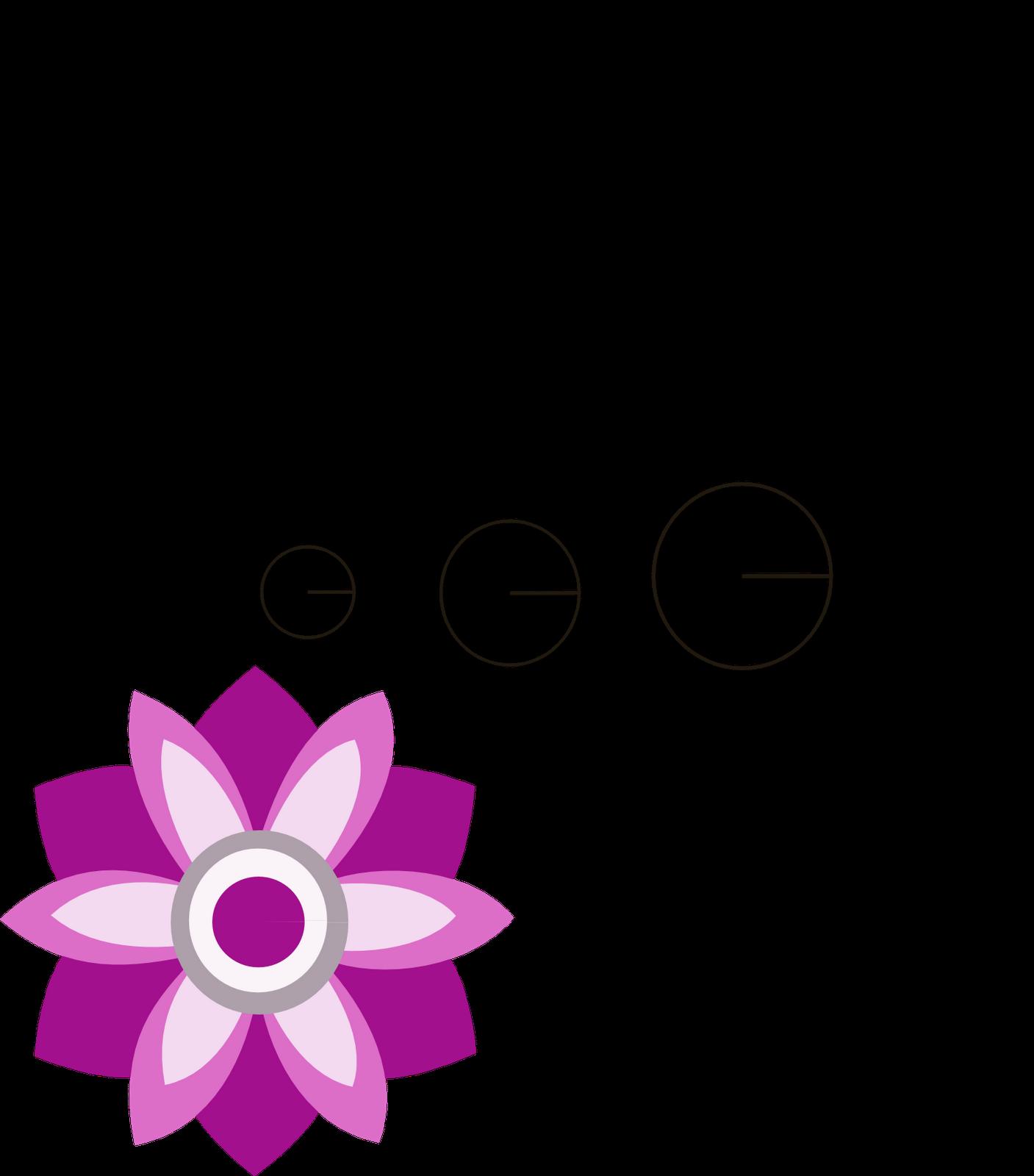 Patrones de flores de fieltro - Imagui