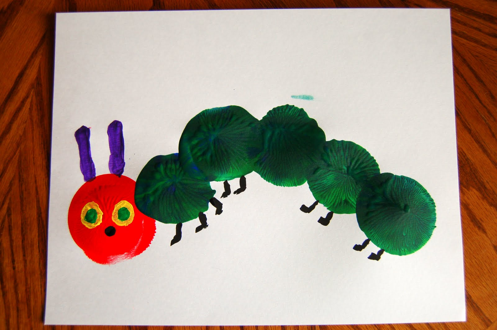 Story Time The Very Hungry Caterpillar With Crafts