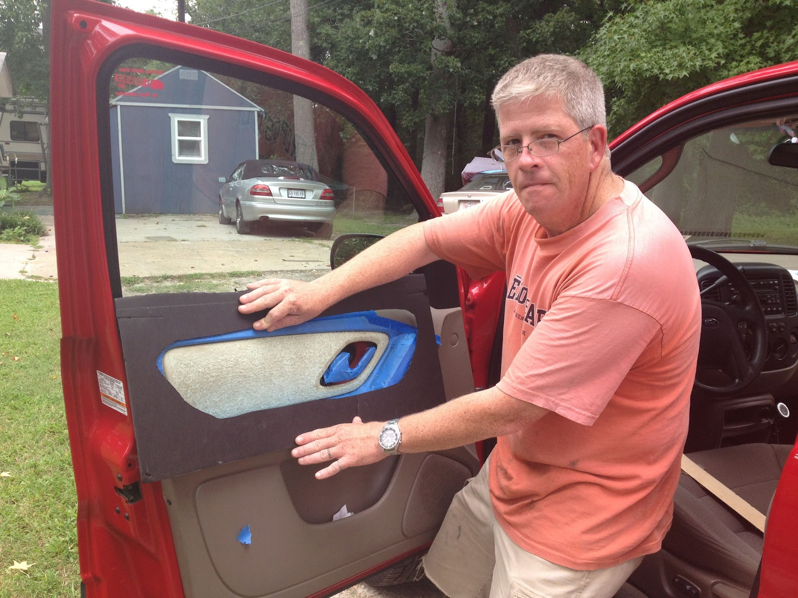 glue a car door handle exterior. a stepping stone glue car door handle exterior o