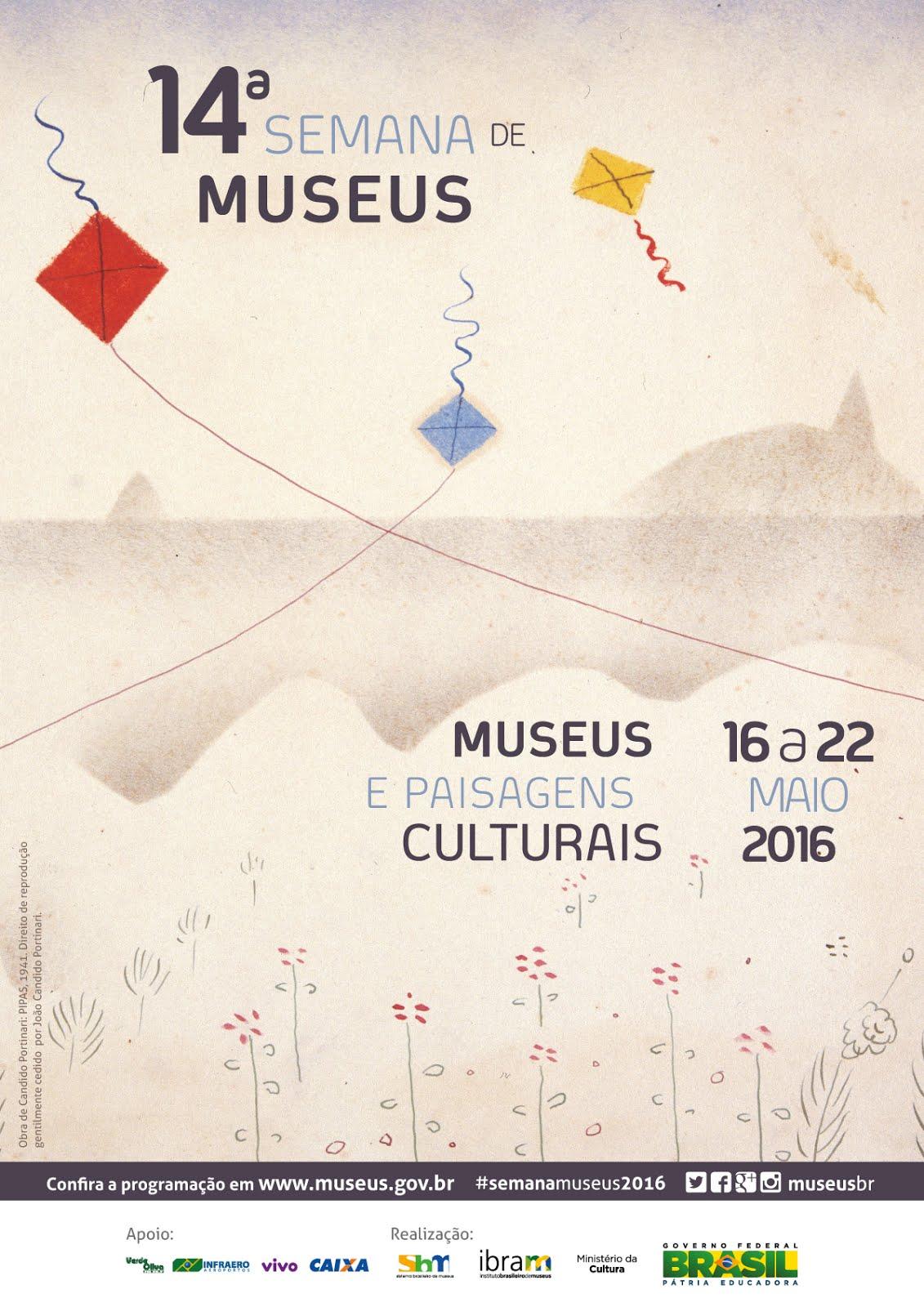 PARTICIPE DA 14º SEMANA DE MUSEUS