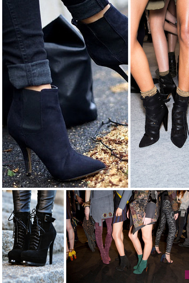 ankle boots trend