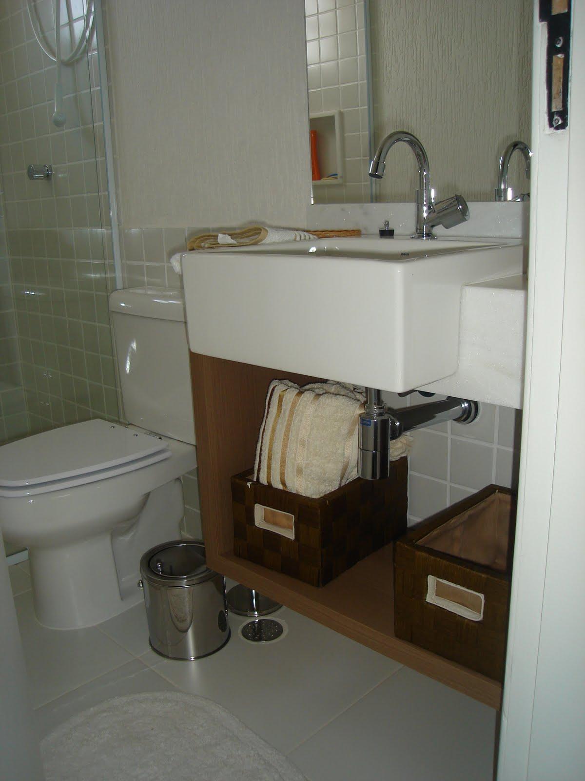 Decorar e Criar: Banheiros: bonitos e econômicos #5E4C36 1200x1600 Banheiro Bonito E Economico