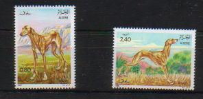 1983年アルジェリア民主人民共和国 スルーギの切手