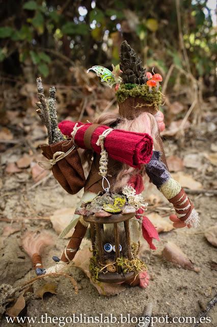 fantasy creature traveller goblin Elda Moonsteps