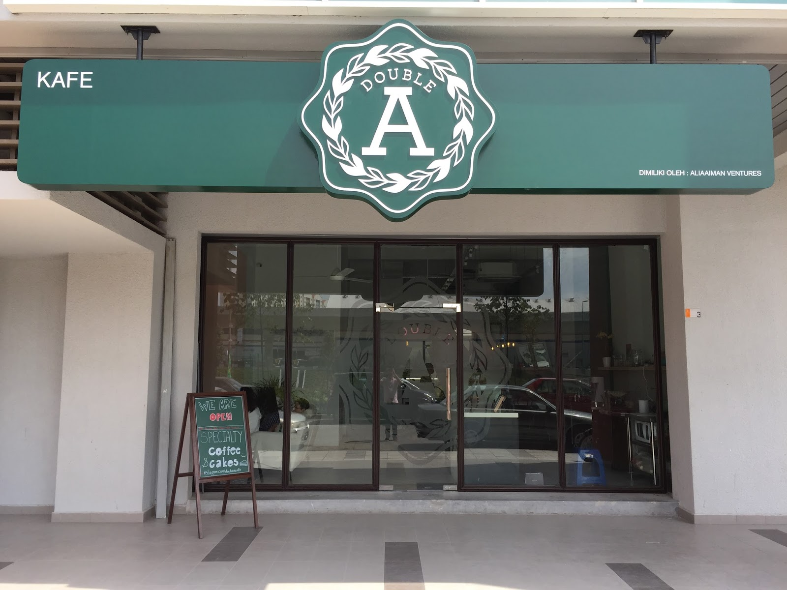 double a cafe kl what next - Glass Front Cafe 2015