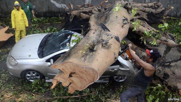 Typhoon Rammasun/Glenda. Image via BBC News Asia.