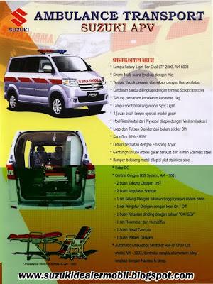 beli mobil ambulance apv semarang tipe deluxe