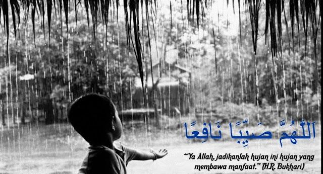 Alhamdullilah, akhirnya hujan turun