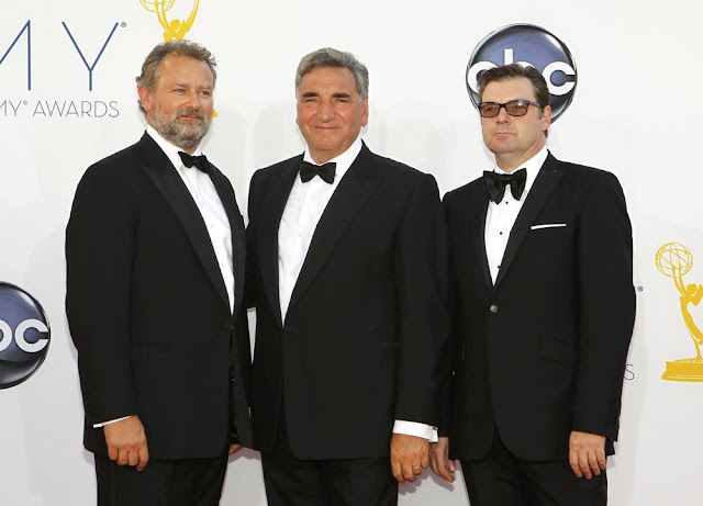 Jim Carter Hugh Bonneville Brendan Coyle Emmy Awards Downton Abbey