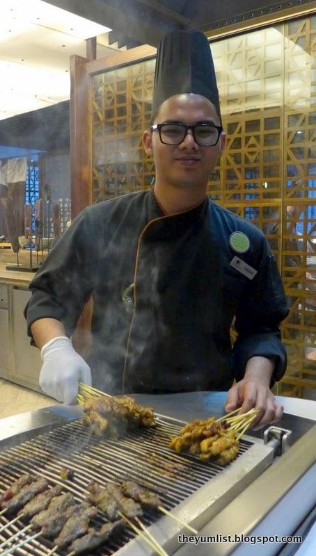 Christmas Menu, Makan Kitchen, Double Tree Hilton, Kuala Lumpur, Malaysia