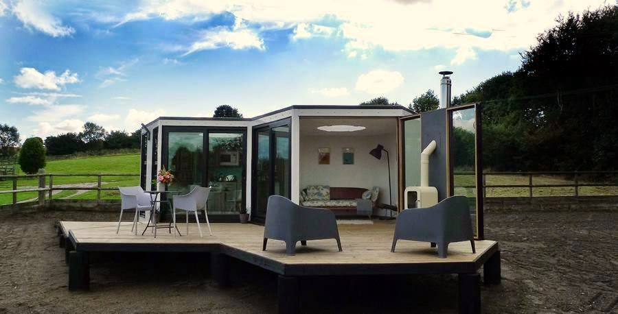 Helen shaddock george clarke 39 s amazing spaces for Hive container homes