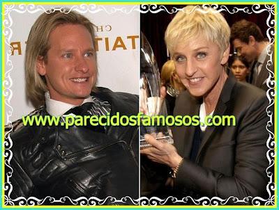 Carson Kressley y Ellen DeGeneres