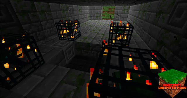 Dungeon Pack Mod spawners