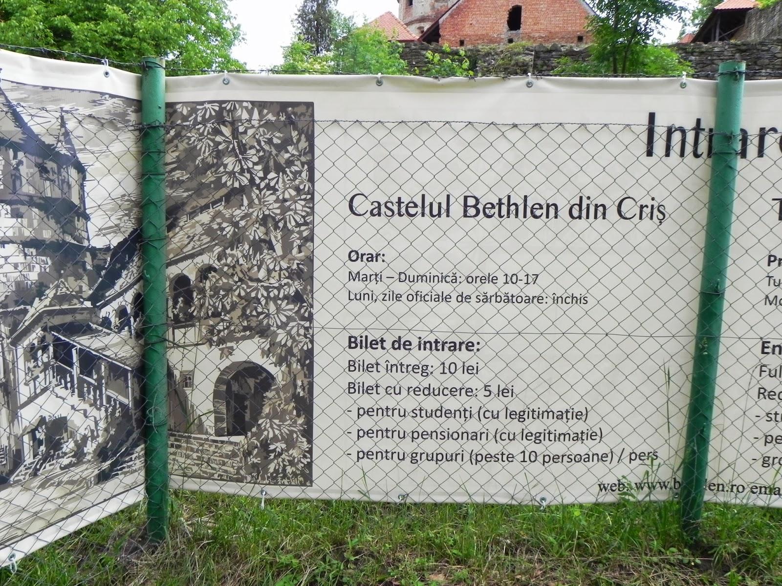 Informatii despre castel