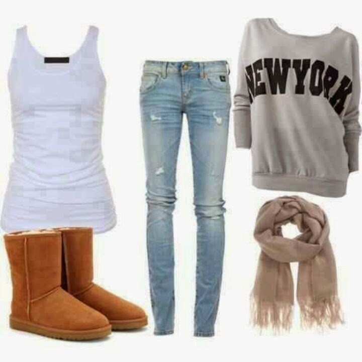 Stylish blue cardigan, white blouse, jeans, handbag, shoes and other accessories for fall