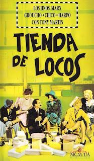 Ver Película Hermanos Marx: Tienda De locos Online Gratis (1941)