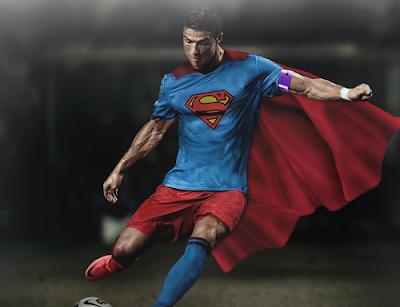2014 Cristiano Ronaldo Superman Wallpaper HD