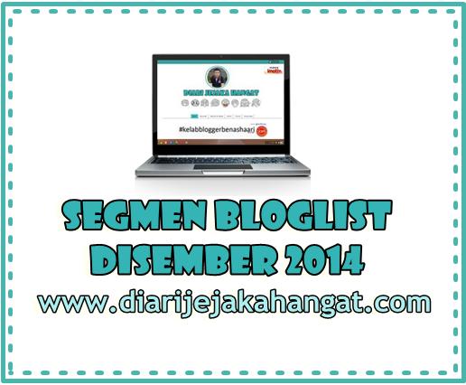 Segmen Bloglist Disember DJH 2014