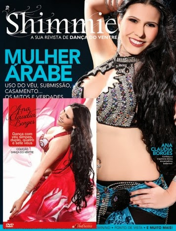 Revista Shimmie + DVD Ana Claudia Borges