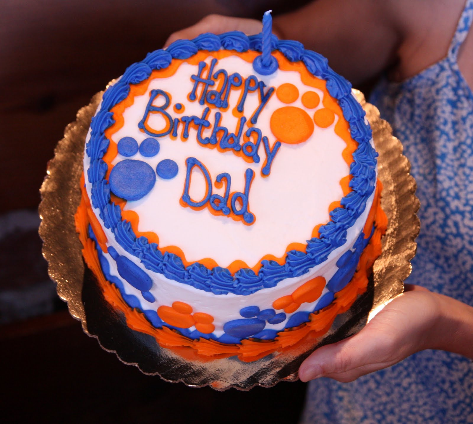 Happy Birthday Daddy Cake The best cake in the whole