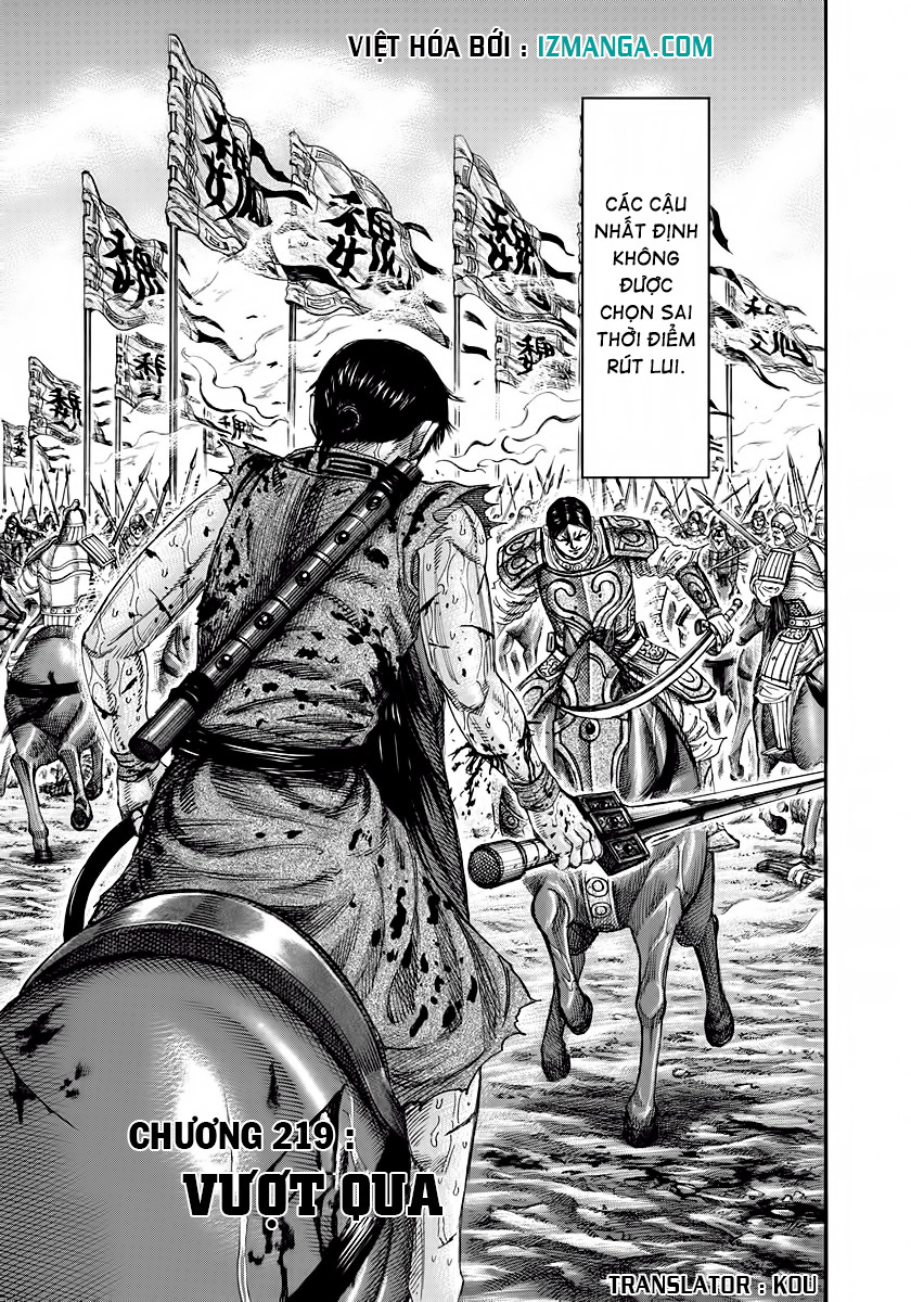 Kingdom - Vương Giả Thiên Hạ Chapter 219 page 4 - IZTruyenTranh.com