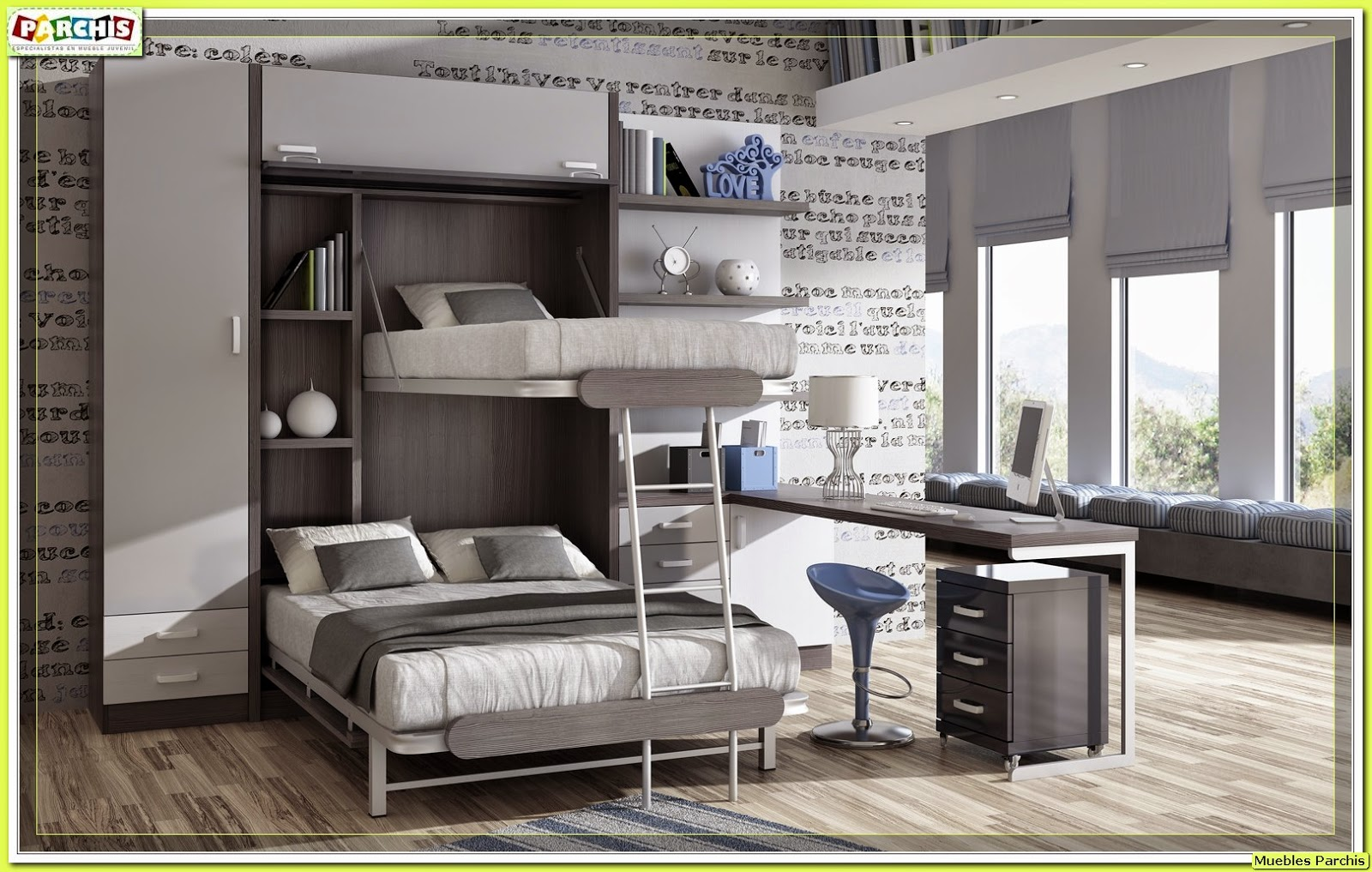 Muebles Dormitorio Madrid : Muebles juveniles dormitorios infantiles y habitaciones