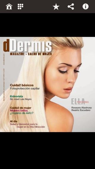 app ddermis magazine