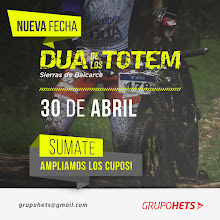 DUA DE LOS TOTEMS - 30/04/17 - SIERRAS DE BALCARCE