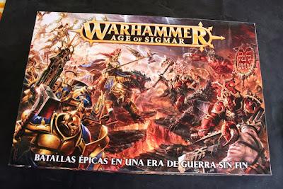 Portada de la caja Warhammer: Age of Sigmar