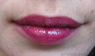 OCC Black Dahlia lip swatch