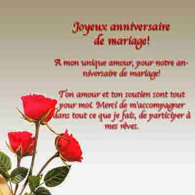 carte voeux 10 ans de mariage invitation mariage carte. Black Bedroom Furniture Sets. Home Design Ideas