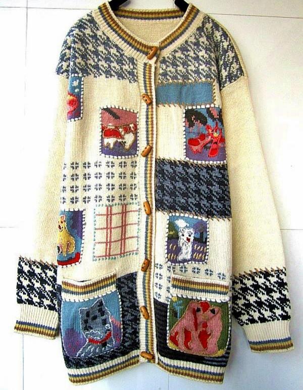 zabawny sweter