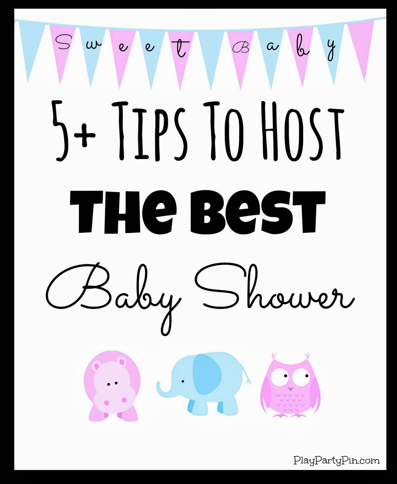 five tips to host the best baby shower from