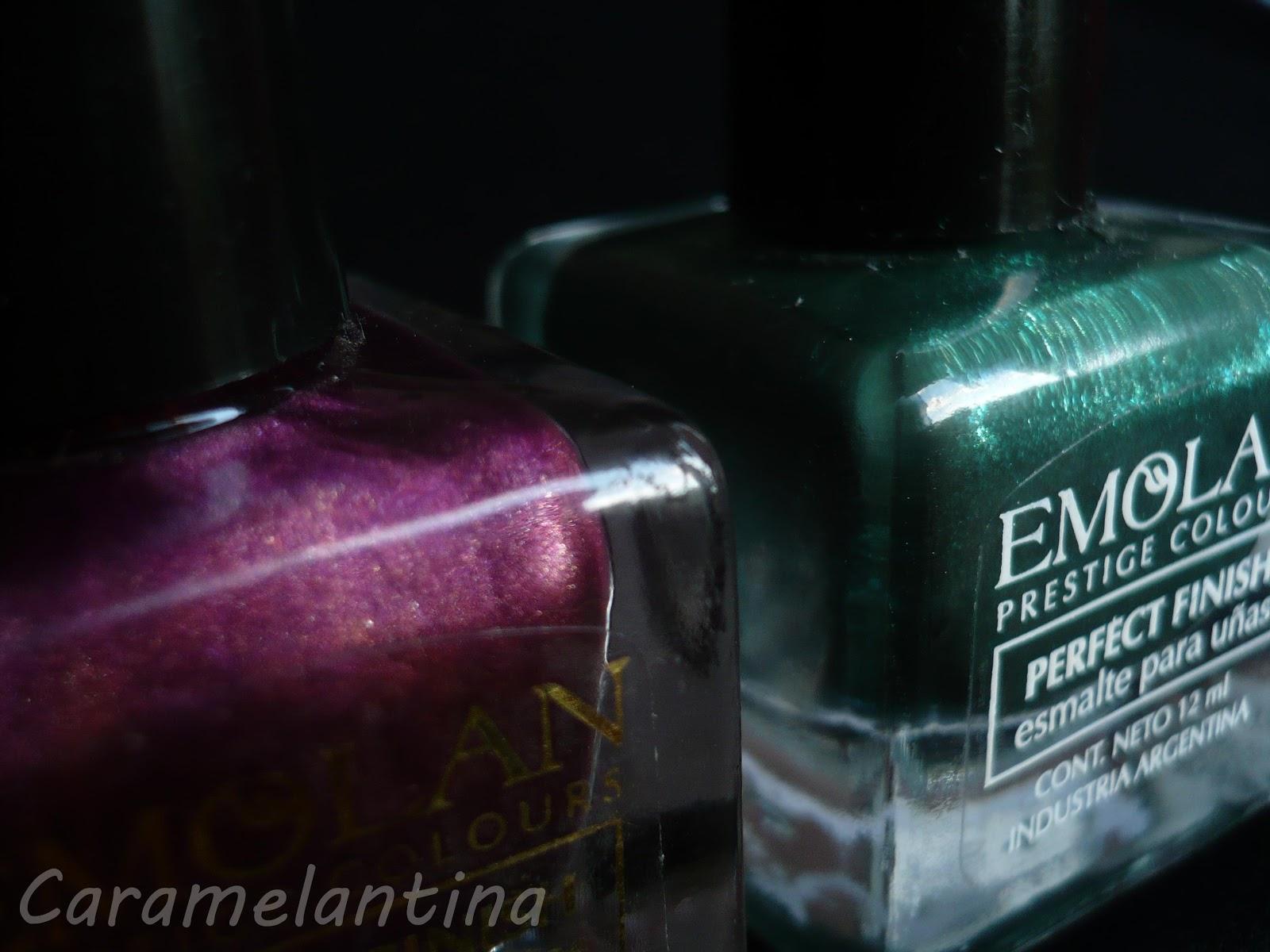 Esmaltes Emolan, Perlado Nº6, Perlado Nº112, opiniones swatch review