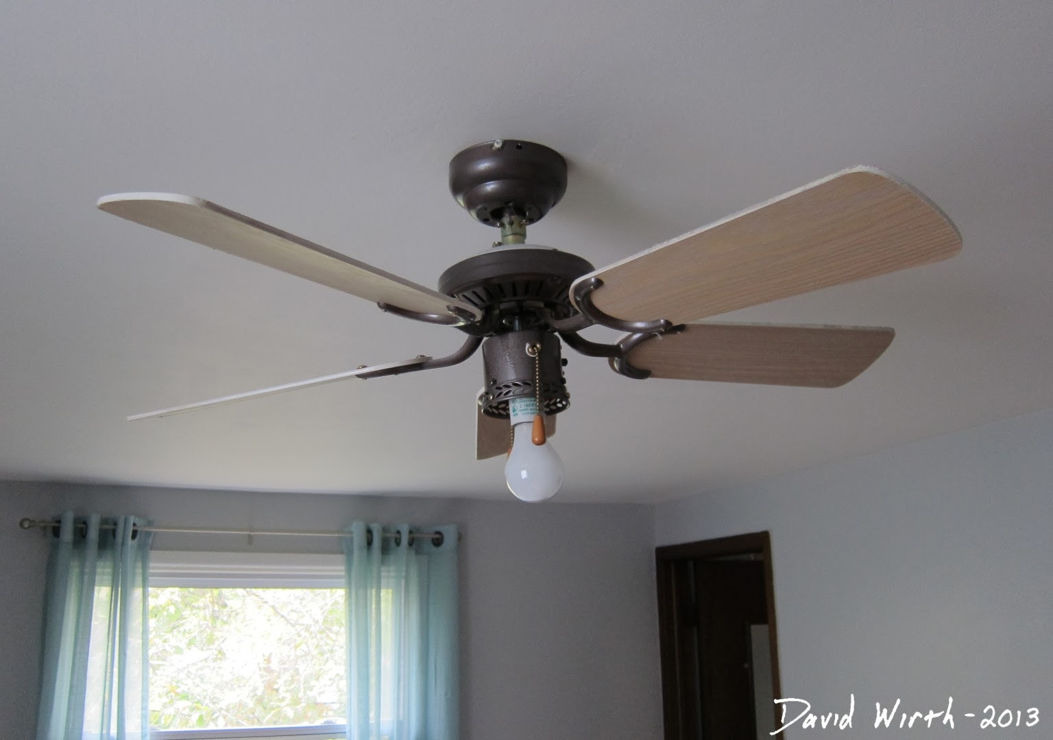 Replace room light with fan aloadofball