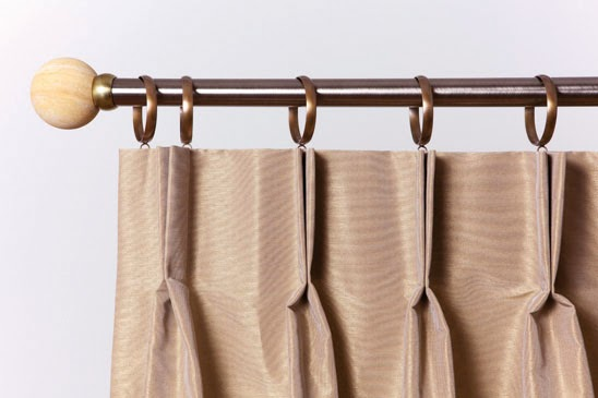 Double Pinch Pleat Curtain