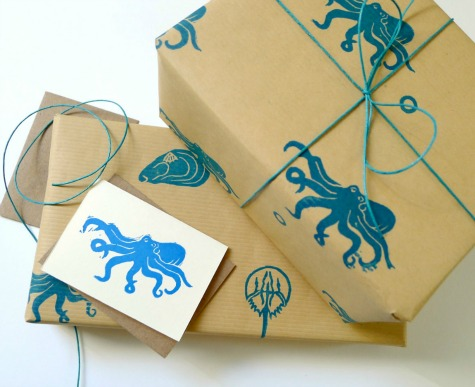 Coastal and Beach Theme Wrapping Papers