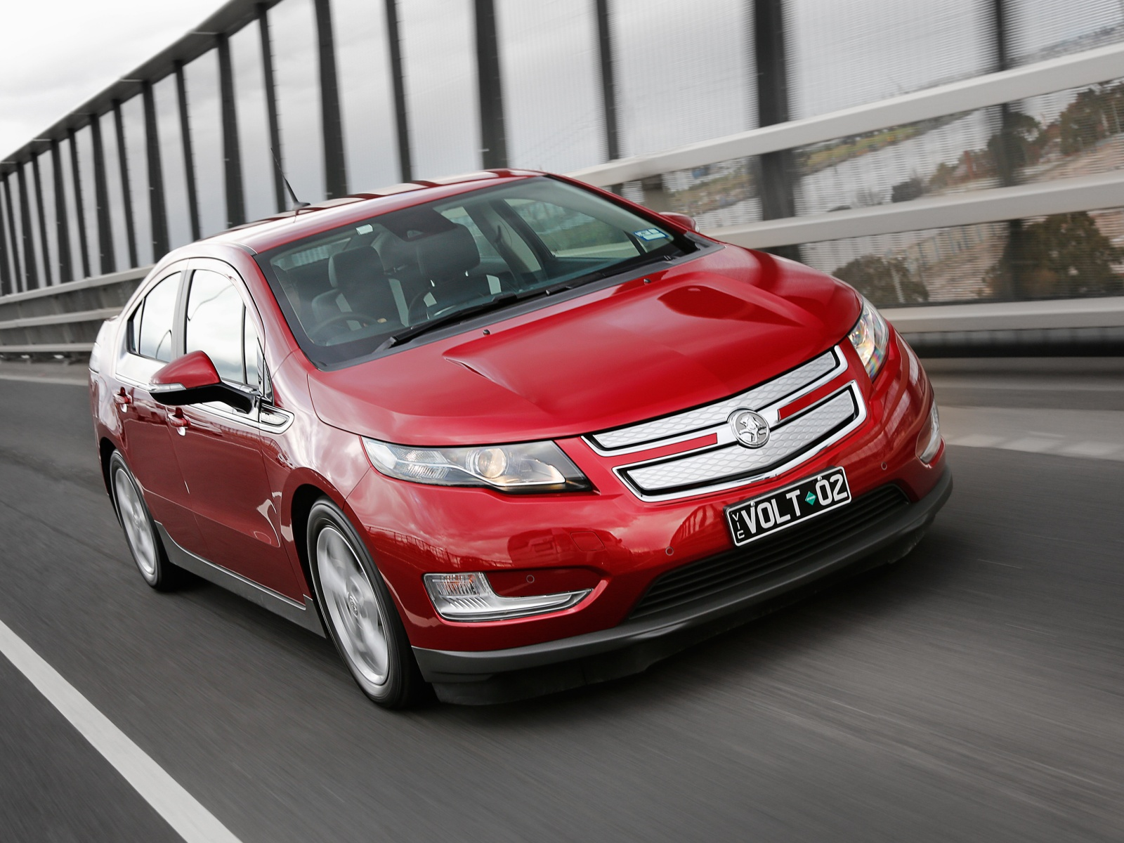 Week with the Holden Volt Extended Range Electric Vehicle | Electric ...